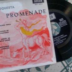 Discos de vinilo: E.P. (VINILO) DE NUEVA ORQUESTA PROMENADE AÑOS 50. Lote 221864171