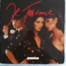 Discos de vinilo: SAINT TROPEZ - JE T'AIME (LP, ALBUM) (BUTTERFLY RECORDS FLY 002) (1977/US). Lote 221864357