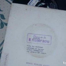 Discos de vinilo: EP ( VINILO) DE ORQUESTA MESEGUER ANDREU AÑOS 60. Lote 221865012