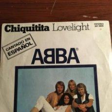 """Discos de vinilo: SINGLE 7"""" ABBA """"CHIQUITITA"""". Lote 221865827"""