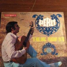 """Discos de vinilo: SINGLE 7"""" PERET """"EL MIG AMIC"""". Lote 221865910"""