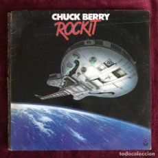 Discos de vinilo: CHUCK BERRY - ROCKIT - LP ATLANTIC UK 1979. Lote 221865966