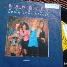Discos de vinilo: SINGLE (VINILO)-PROMOCION- DE BANGLES 80. Lote 221866072