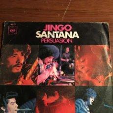 """Discos de vinilo: SINGLE 7"""" SANTANA """"JINGO"""". Lote 221866150"""