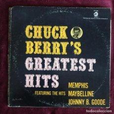 Discos de vinilo: CHUCK BERRY - GREATEST HITS - LP CHESS USA 1974. Lote 221866333