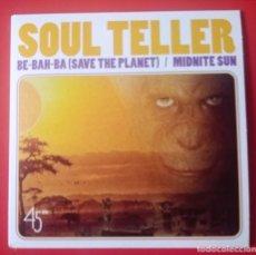 Disques de vinyle: SINGLE SOUL TELLER, EX COOL JERKS. Lote 221866651