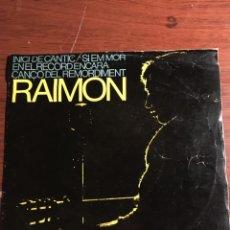 "Discos de vinilo: EP 7"" RAIMON, ""INICI DE CANTIC"". Lote 221866908"