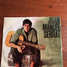 "Discos de vinilo: EP 7"" JOAN MANUEL SERRAT. Lote 221867192"