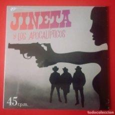 Discos de vinilo: EP JINETA Y LOS APOCALÍPTICOS. Lote 221867387
