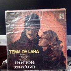 Discos de vinilo: VARIOUS - DOCTOR ZHIVAGO; TEMA DE LARFA / YURI HUYE / TONYA LLEGA A VARIQUINO / EN EL CAFÉ. Lote 221867673