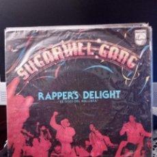 Discos de vinilo: SUGARHILL GANG - RAPER'S DELIGHT. Lote 221868771