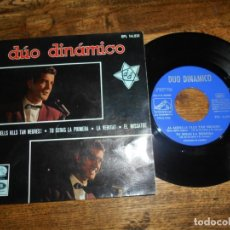 "Discos de vinilo: DUO DINAMICO – AI, AQUELLS ULLS TAN NEGRES! RARO 7"" SPAIN 1966. Lote 221868943"