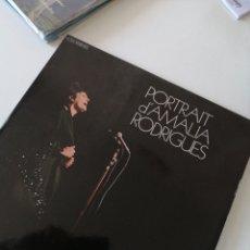 Discos de vinilo: PORTRAIT D'AMALIA RODRÍGUES VINILO FRANCIA. Lote 221870766