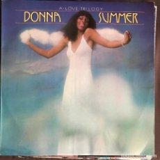 Discos de vinilo: DONNA SUMMER - A LOVE TRILOGY - LP ARIOLA SPAIN 1976. Lote 221871198