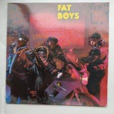 Discos de vinilo: FAT BOYS COMING BACK HARD AGAIN. LP. TDKLP. Lote 221871203
