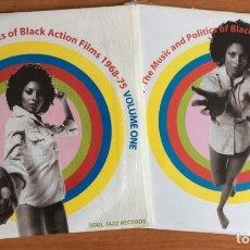 Discos de vinilo: CAN YOU DIG IT? THE MUSIC AND POLITICS OF BLACK ACTION FILMS 1968-75 VOL 1 Y 2 4XLPS VINILOS. Lote 221873646