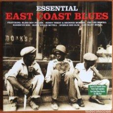 Discos de vinilo: ESSENTIAL EAST COAST BLUES. 2 XLP (2012) NOT NOW MUSIC VINILO. COMO NUEVO. Lote 221874802