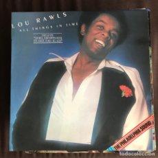 Discos de vinilo: LOU RAWLS - ALL THINGS IN TIME - LP PIR SPAIN 1976. Lote 221875038