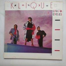 Discos de vinilo: KLIQUE - LOVE CYCLES. LP. TDKLP. Lote 221875578
