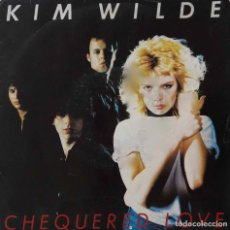 Discos de vinilo: KIM WILDE. CHEQUERED LOVE. SINGLE FRANCIA.. Lote 221877483