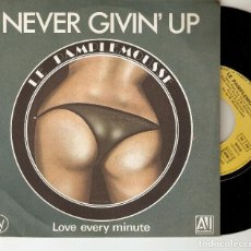 "Discos de vinilo: LE PAMPLEMOUSSE 7"" FRANCIA 45 SINGLE VINILO 1980 NEVER GIVIN´ UP FUNK DISCO SOUL IMPORTACION RARO !. Lote 221881720"
