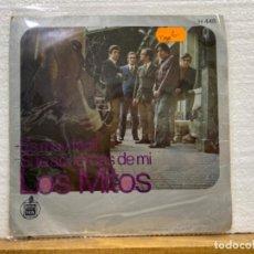 Discos de vinilo: LOS MITOS. Lote 221882412