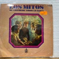 Discos de vinilo: LOS MITOS. Lote 221882597