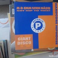 Discos de vinilo: MAXI GIANT DISCO-46. Lote 221884183