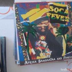 Discos de vinilo: MAXI SOCA FEVER-58. Lote 221885280