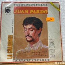 Discos de vinilo: JUAN PARDO. Lote 221885800