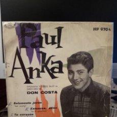 Discos de vinilo: PAUL ANKA - JUST YOUNG. Lote 221886221