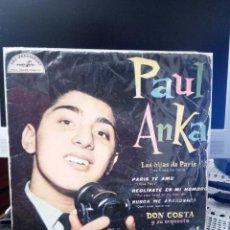 Discos de vinilo: PAUL ANKA - LES FILLES DE PARIS. Lote 221886481