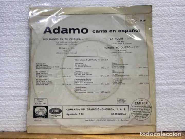 Discos de vinilo: Adamo - Foto 2 - 221886706