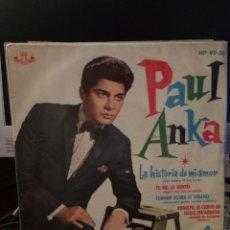 Discos de vinilo: PAUL ANKA - THE STORY OF MY LOVE. Lote 221886885