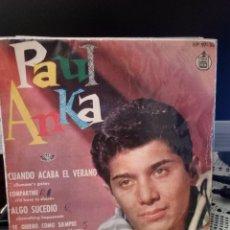 Discos de vinilo: PAUL ANKA - SUMMER'S GONE. Lote 221886998