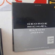 Discos de vinilo: MAXI GEORGE MICHAEL ELTON JOHN-82. Lote 221887448