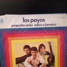 Discos de vinilo: LOS PAYOS (GUITARRISTA DE TRIANA) - PEQUEÑA ANITA. Lote 221887452