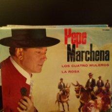 Discos de vinilo: PEPE MARCHENA - LOS CUATRO MULEROS. Lote 221887957
