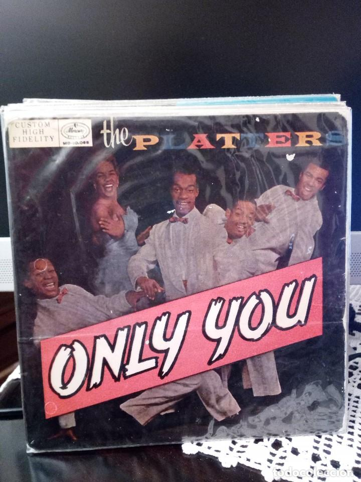 THE PLATTERS - ONLY YOU (Música - Discos de Vinilo - EPs - Funk, Soul y Black Music)