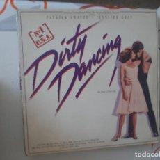 Discos de vinilo: MAXI ,CARPETA GASTADA Y DISCO USADO.DIRTY DANCING-89. Lote 221888516