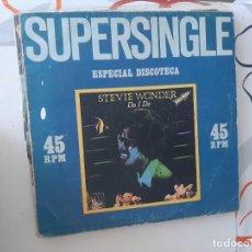 Discos de vinilo: MAXI ,CARPETA GASTADA Y DISCO USADO. SUPERSINGLE-92. Lote 221888821