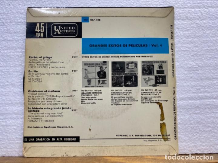 Discos de vinilo: Cuatro grandes éxitos de películas - Foto 2 - 221888863