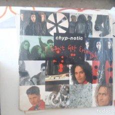 Discos de vinilo: MAXI ,CARPETA GASTADA Y DISCO USADO. CHYP NOTIC-94. Lote 221888933