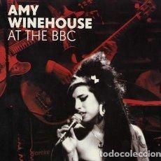Discos de vinilo: AMY WINEHOUSE ?- AT THE BBC LP NO OFICIAL CON GRABACIONES RECOGIDAS POR LA BBC. Lote 221890355