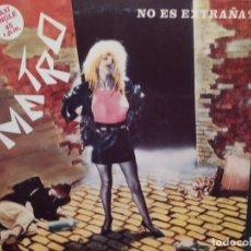 Discos de vinilo: METRO: NO ES EXTRAÑA? ACUARIO 1984 MAXI SINGLE PROMOCIONAL. Lote 221893851