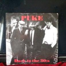 Discos de vinilo: PUKE 1985 5 TEMAS SWEDEN PUNK . ARNE MOLLER RECORDS. Lote 221898007