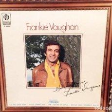 Discos de vinilo: FRANKIE VAUGHAN : SINCERELY YOURS ED ESPAÑA, PYE RECORDS ? 1975. Lote 221898188