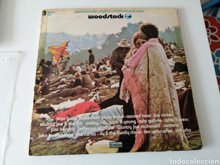 WOODSTOCK ORIGINAL SOUNDTRACK TRIPLE ALBUM 1970 USA (Música - Discos - LP Vinilo - Otros Festivales de la Canción)