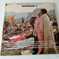 Discos de vinilo: WOODSTOCK ORIGINAL SOUNDTRACK TRIPLE ALBUM 1970 USA. Lote 221901080