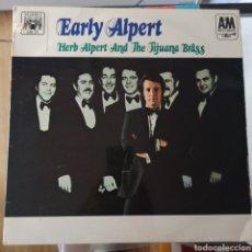 Discos de vinilo: HERB ALPERT AND THE TIJUANA BRASS - EARLY ALPERT (MARBLE ARCH - MALS 866, UK, 1968). Lote 221902557